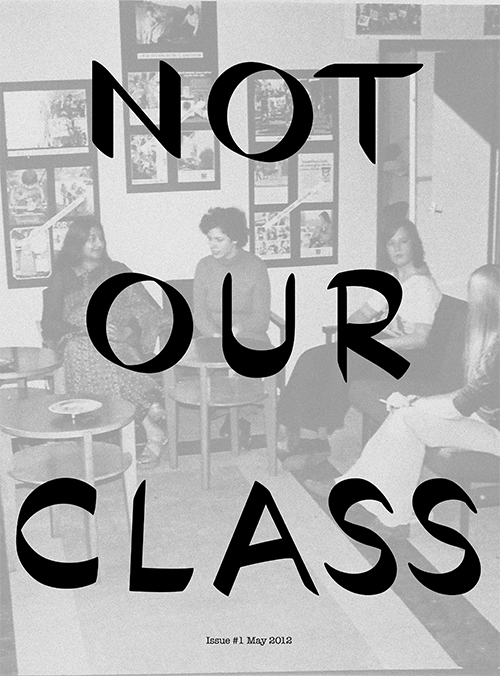 Not Our Class Newsletter-1